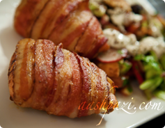 bacon wrapped chicken breast