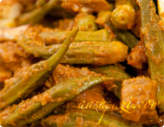 Okra Stew, Khoresht Bamieh Calories and Nutirtion Values