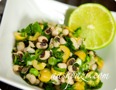 Black Eyed Peas Olive Salad