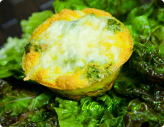 Broccoli Frittata Calories and Nutrition Values