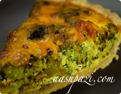 Broccoli Quiche Calories & Nutrition Values