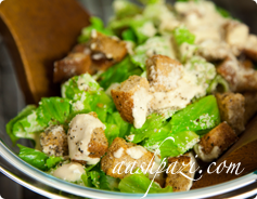 Caesars Salad Calories & Nutrition Values