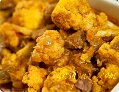 Khoresht Gol Kalam(Cauliflower)