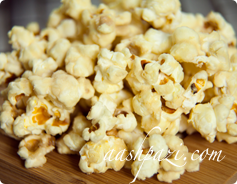Caramel Popcorn Calories & Nutrition Values