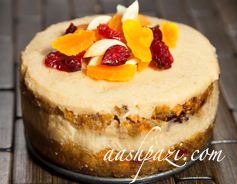 Carrot Cashews Cake