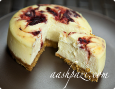 Cranberry Cheesecake Calories & Nutrition Values