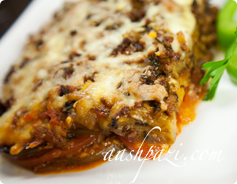 Eggplant Lasagna Calories & Nutrition Values