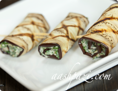 Eggplant Roll Calories & Nutrition Values