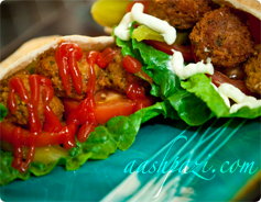 Falafel Calories and Nutrition Values