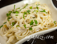 Fettuccine Alfredo Calories & Nutrition Values