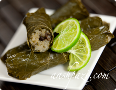 grape leaf wrap