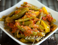 Green Beans Salad Calories & Nutritional Values