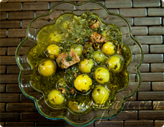 Green Plums Stew