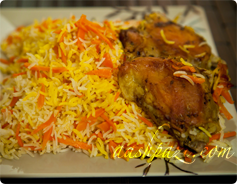 Carrot rice, Havij polo