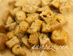 Herb Croutons Calories & Nutrition Values