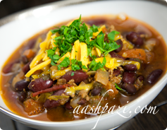 Italian Chili Calories & Nutrition Values