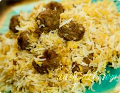 Kalam Polo(Cabbage with Rice)