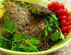 Kookoo Sabzi Calories and Nutrition Values