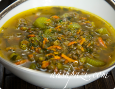 Lentil Soup Calories & Nutrition Values