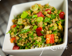 Lentils Salad Calories & Nutrition Values
