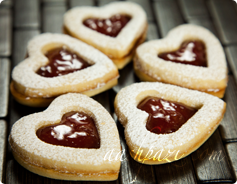 Linzer Cookies Calories & Nutrition Values