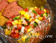 Mango Peach Salsa Calories & Nutrition Values