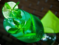 Mint Syrup, Sharbat Sekanjebin Calories and Nutrition Values