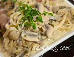 Mushroom Sauce Calories & Nutrition Values