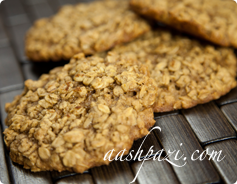 Oatmeal Cookies Calories & Nutrition Values
