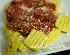 Potato Gnocchi Calories & Nutrition Values