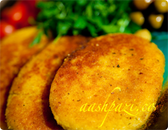Potato Patties Calories and Nutrition Values
