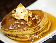 Pumpkin Pancake Calories & Nutrition Values