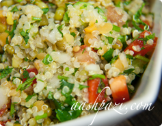 Quinoa Salad Calories & Nutrition Values