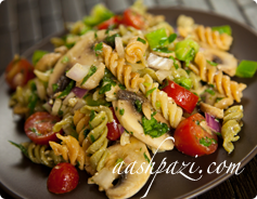 Rotini Salad Calories & Nutrition Values