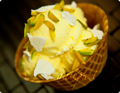 Akbar Mashti, Saffron Ice Cream Calories and nutrition values