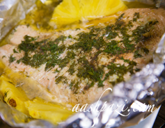 Salmon Fillet (Pineapple)