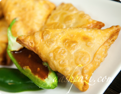 Sambooseh or Samosa Calories and Nutrition Values
