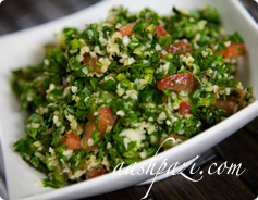Tabbouleh Calories & Nutrition Values
