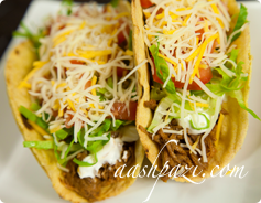 Beef Taco Calories & Nutrition Values