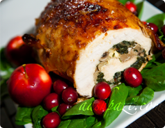Turkey Breast Roulette Calories and Nutrition Values