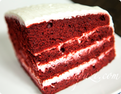 Red Velvet Cake Calories and Nutrition Values