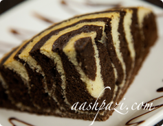 Zebra Cake Calories & Nutrition Values
