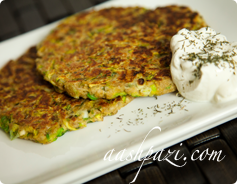 Zucchini Burger Calories & Nutrition Values