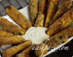 Zucchini Fries Calories & Nutrition Values