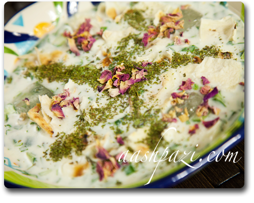 Abdoogh Khiar Recipe