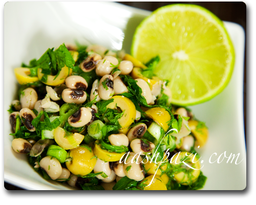 black eyed peas olive Recipe