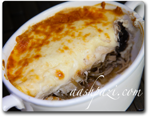 Chicken Mushroom Julienne Recipe