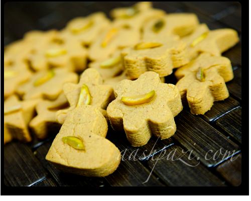 Chickpeas cookies nokhodchi recipe