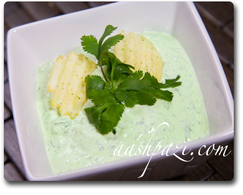 Cilnatro Lime Dip Recipe