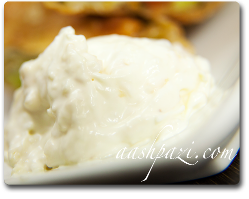 Garlic Dip Recipe